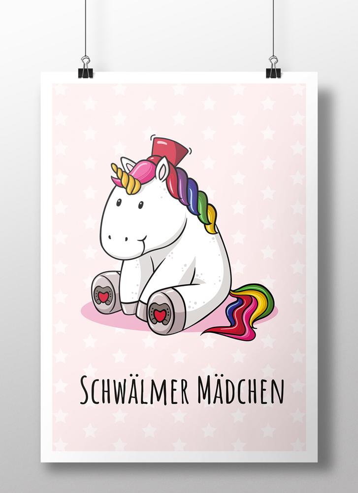 Plakat Schwälmer Einhorn